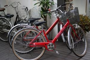 จักรยานสำหรับลูกค้าของบางกอกทรีเฮ้าส์